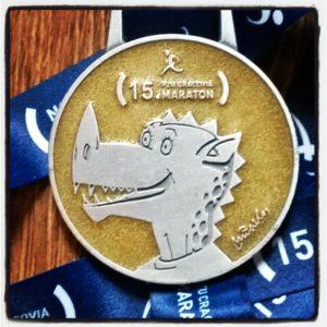Medal 15 Cracovia Maraton