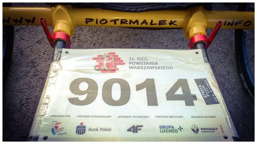 26 Bieg Powstania Warszawskiego - numer