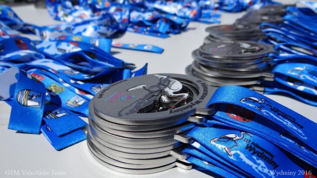 III Polmaraton Wydminy - medale