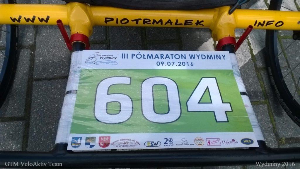 III Polmaraton Wydminy - numer