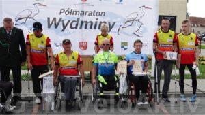III Polmaraton Wydminy - podium